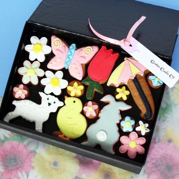 Medium Spring Cookie Gift Box