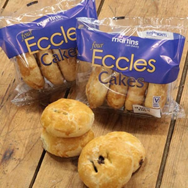 4 Eccles Cakes x 18