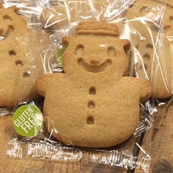 Gluten Free Vanilla Snowman x 36