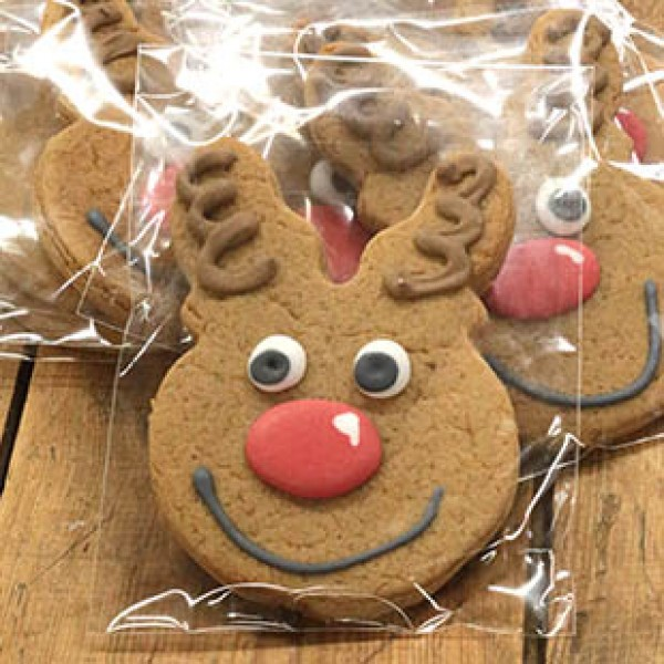 Decorated Gingerbread Reindeer x 20