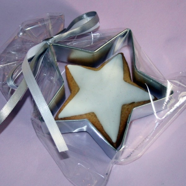 Seasonal Corporate Star Cookie