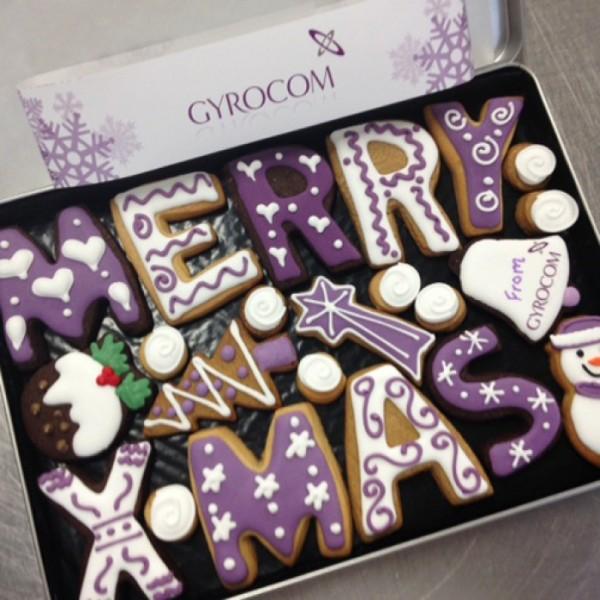 Seasonal Corporate Gyrocom  Cookie Gift Box