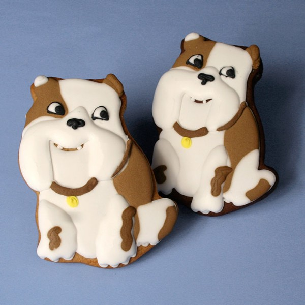 Churchill Dog Promotional Cookies