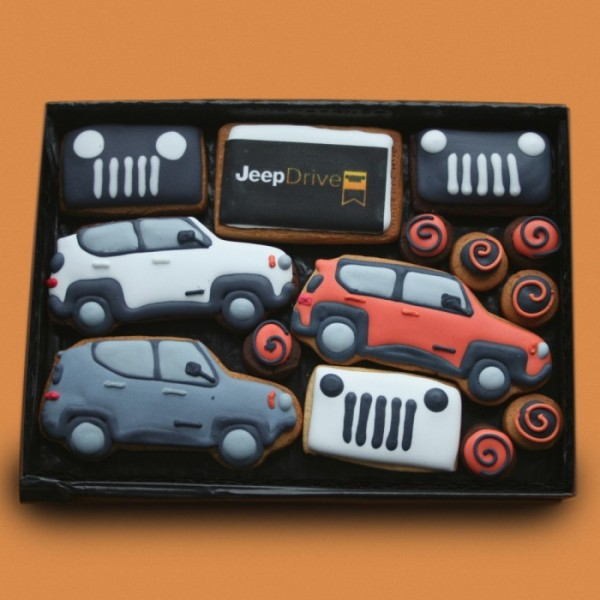 Jeep Promotional Cookie Gift Box