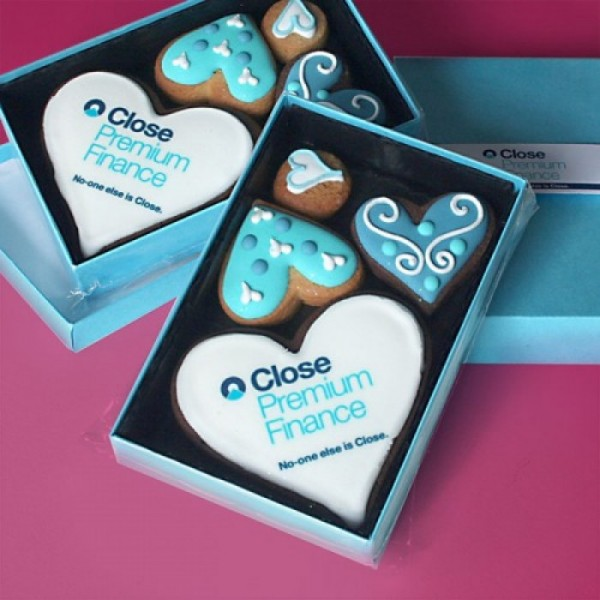 Close Finance Promotional Cookie Gift Box