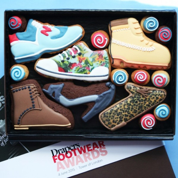 Corporate Shoe Cookie Gift Box