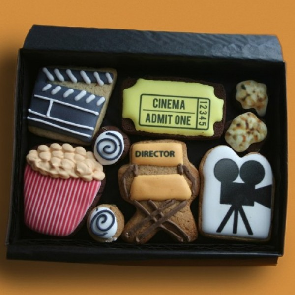 Promotional Cinema Cookie Gift Box