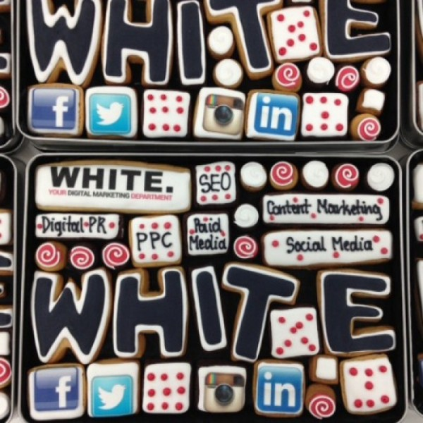 'White' Corporate Gift Box Cookies