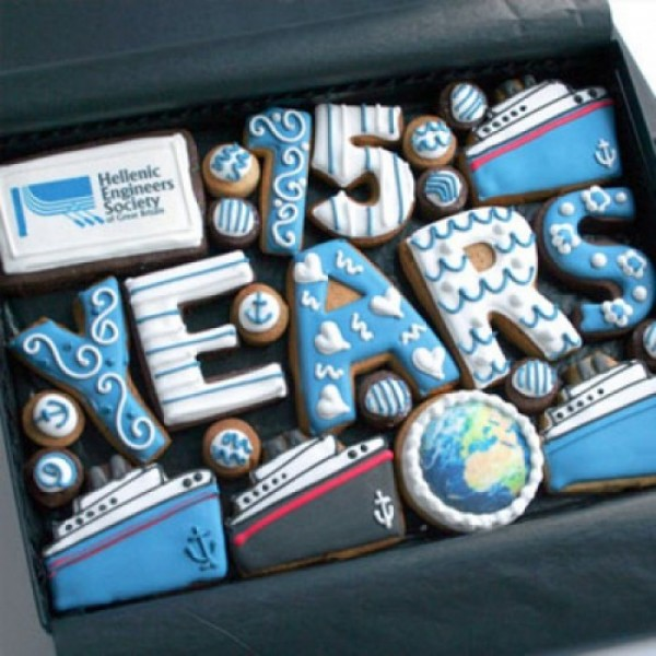 Boat Themed Corporate Gift Box Cookies
