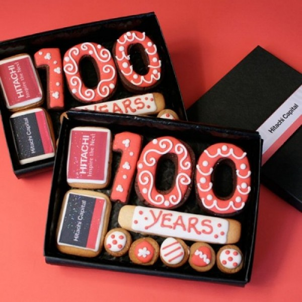 Hitachi Promotional Gift Box Cookies