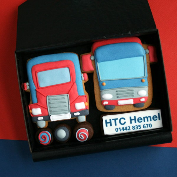 HTC Hemel Promotional Cookie Gift Box
