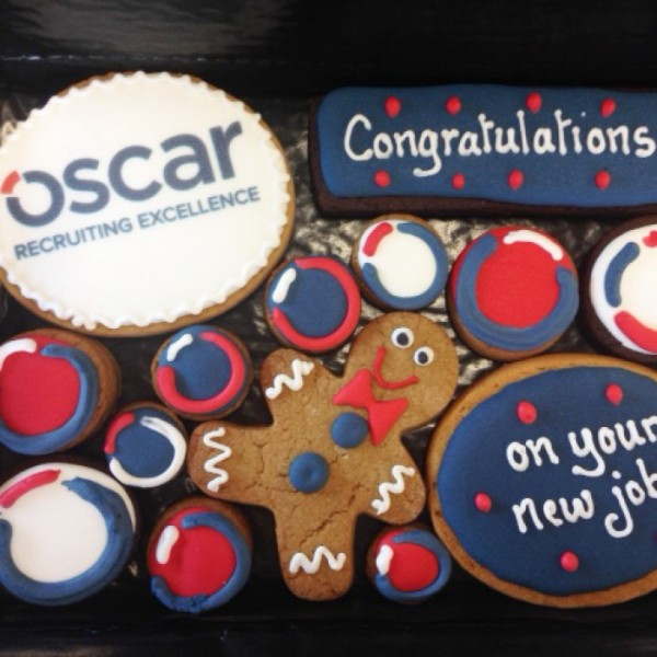 Oscar Recruiting Corporate Cookie Gift Box