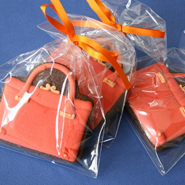 Handbag Shaped Promotional Cookies