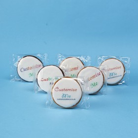 Logo Cookies - Round or Oval, Flow Wrapped