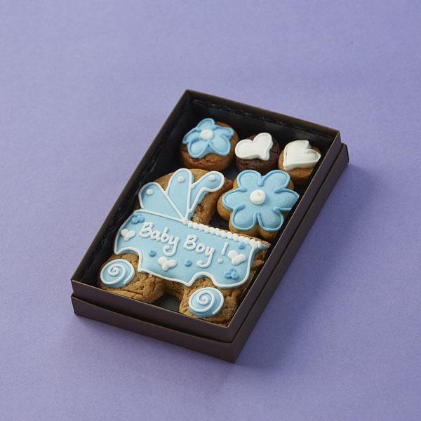 Cookie Card: Personalised Baby's Pram