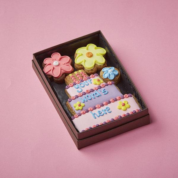 Cookie Card: Personalised Birthday Cake