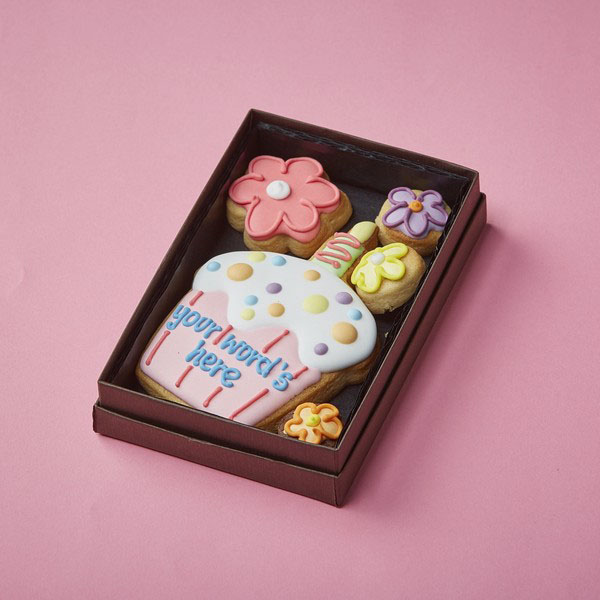 Cookie Card: Personalised Candle Cupcake