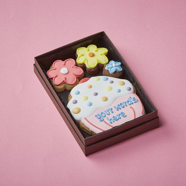 Personalised Cherry Cupcake Cookie Card