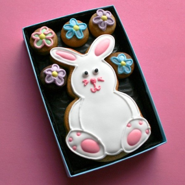 Cookie Card Easter Bunny