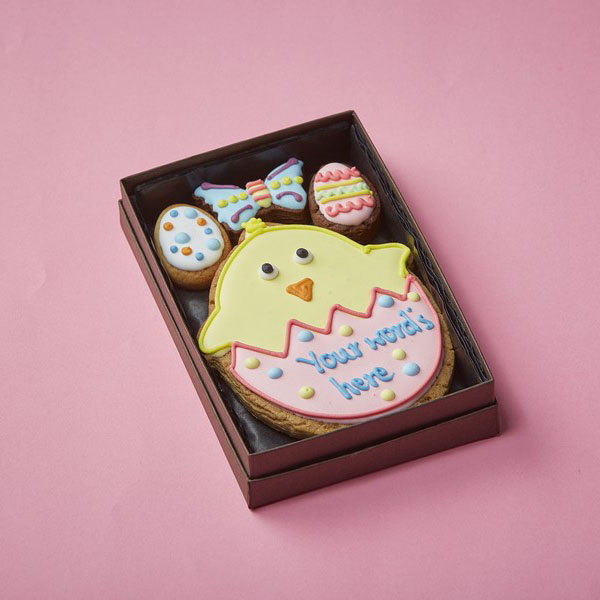 Cookie Card Easter Chick