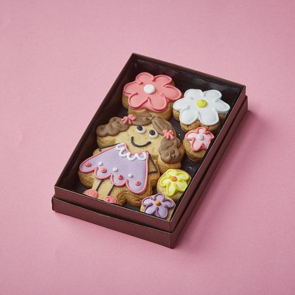 Cookie Card: Personalised Girl Cookie
