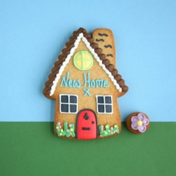 Cookie Card: New Home!