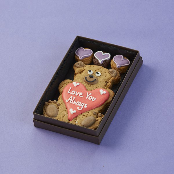 Personalised Teddy Bear Cookie Card