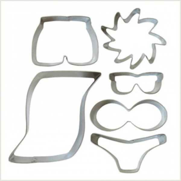 'At the Beach' Cookie Cutter Set