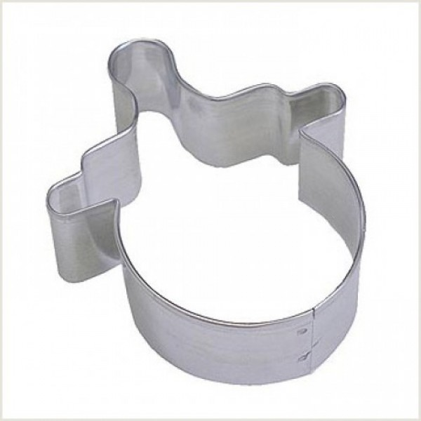 """Baby Dummy/Pacifier 3"""" cookie cutter"""