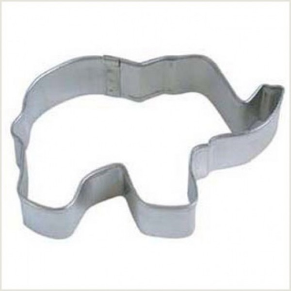 """Elephant 3"""" Cookie Cutter"""