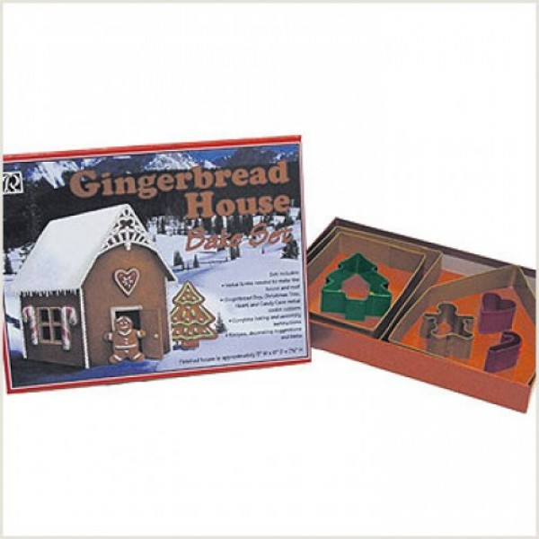 Gingerbread House Cookie Cutter Set