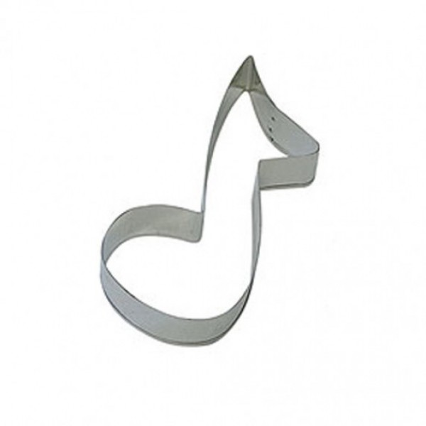"Music Note 5.5"" cookie cutter"