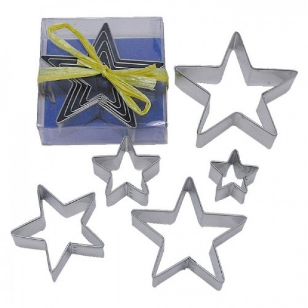 Nested Star Cookie Cutter Set
