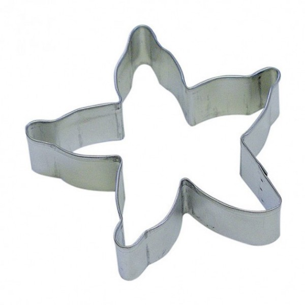 "Starfish 4"" cookie cutter"