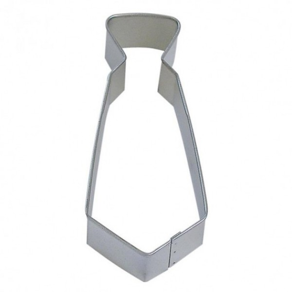 "Neck Tie 5"" cookie cutter"
