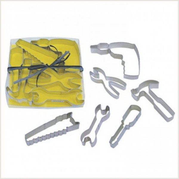 Tool Cookie Cutter Set