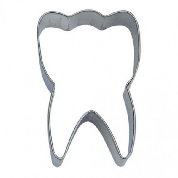 "Tooth 3"" cookie cutter"