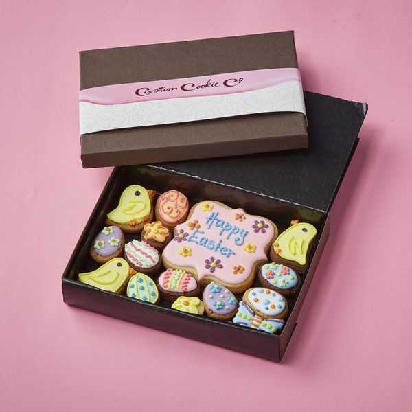 Small Easter Cookie Gift Box
