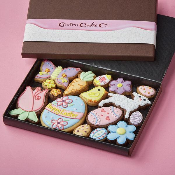 Medium Easter Variety Cookie Gift Box