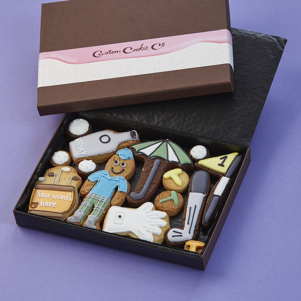 Medium Golf Cookie Gift Box