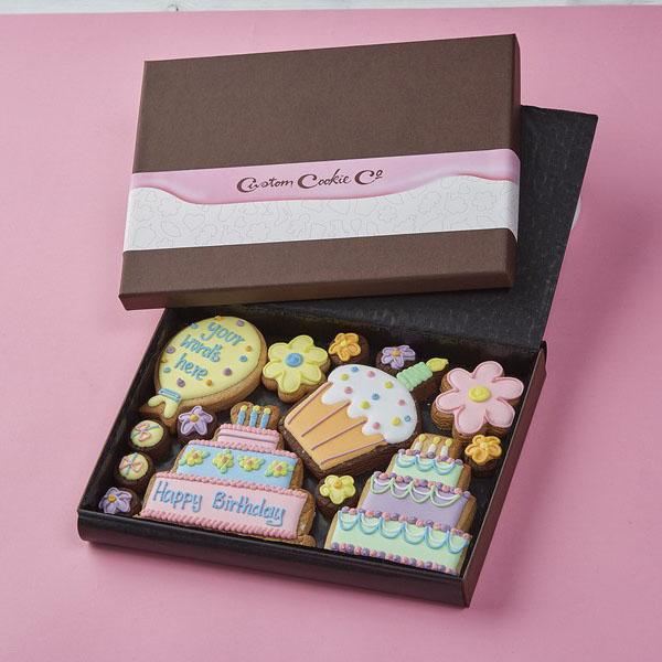 Medium Happy Birthday Box (Personalised)