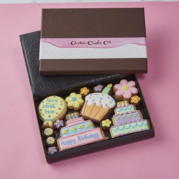 Medium Happy Birthday Gift Box, Pink