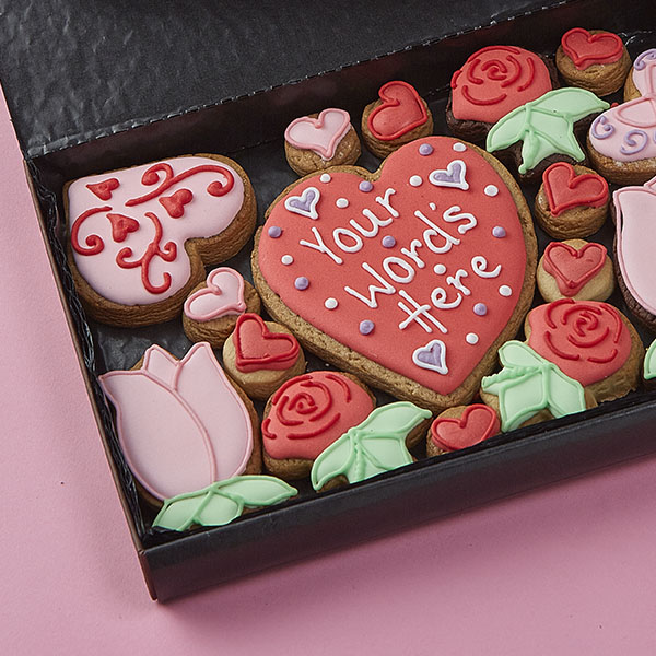 Medium Hearts & Flowers Gift Box