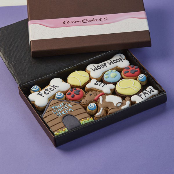 Medium In The Dog House Cookie Gift Box