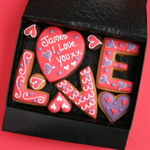 Small Love Cookies Gift Box