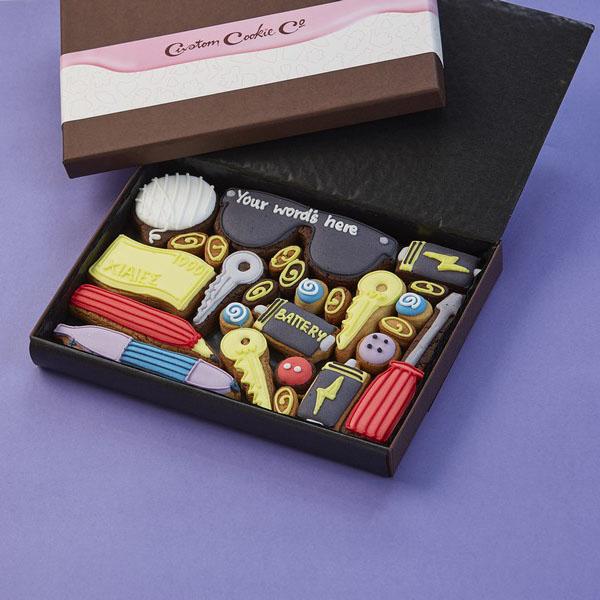 Medium Man Drawer Cookie Gift Box