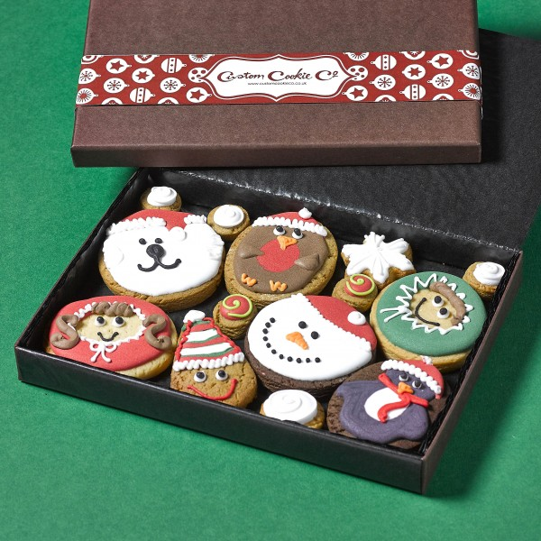 Medium Christmas Faces Box (Not Personalised)
