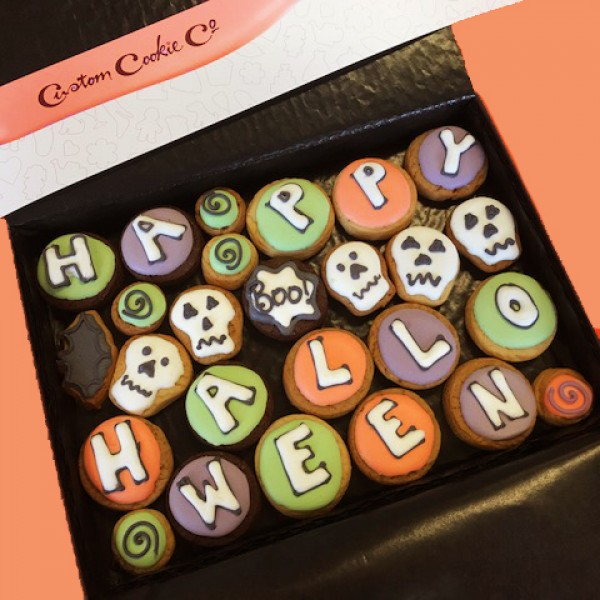 Medium Happy Halloween Cookie Gift Box