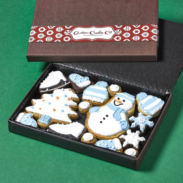 Medium Snow Cookie Gift Box