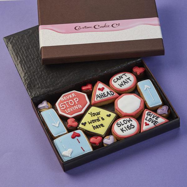 Medium Road Signs Cookie Gift Box